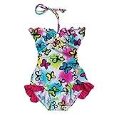 BAOHULU Girls' Athletic One-Piece Swimsuits