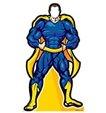 Super Hero In Blue Stand-In - Advanced Graphics Life Size Cardboard Standup