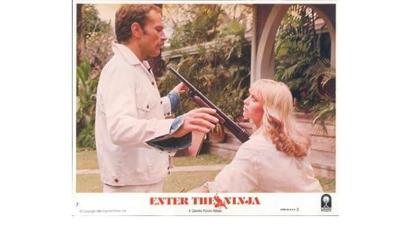 Susan George pulls rifle on Franco Nero Enter the Ninja ...