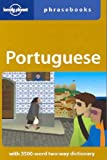 Front cover for the book Lonely Planet Portuguese Phrasebook by Robert Landon