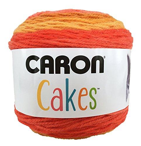 (Caron Cakes Self Striping Yarn 1 Ball Spice Cake 7.1 ounces)