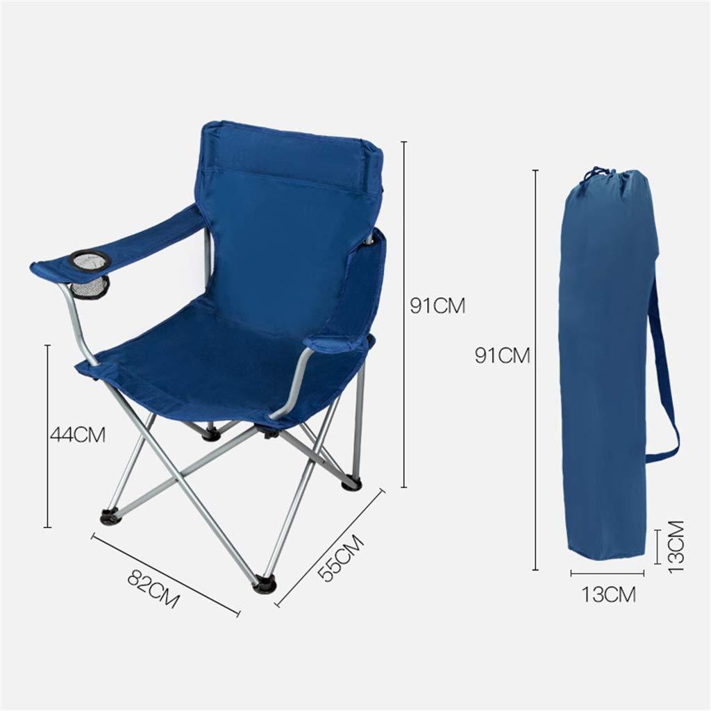 CGF-Mecedora Silla de Camping Camping de Plegable Silla Plegable Silla de Camping Silla de Playa Zero Gravity Easy Plegable Camping Playa Jardín Picnic Dormitorio de Pesca, Teniendo 100kg, Azul f43587