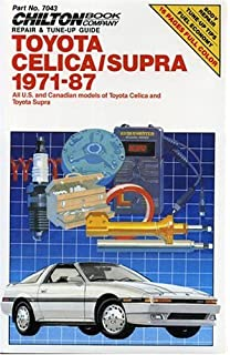 Toyota celica supra 1979 1992 haynes manuals john haynes mike toyota celica and supra 1971 87 chiltons repair manual fandeluxe Images