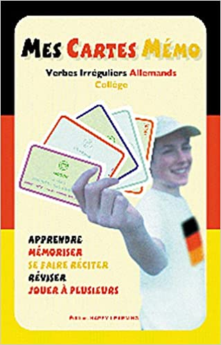 Amazon Fr Mes Cartes Memo Verbes Irreguliers Allemands College Happy Learning Livres