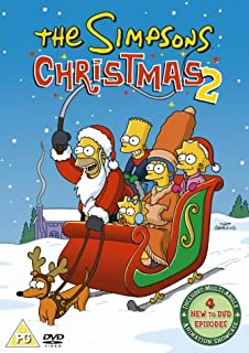 Simpsons Christmas Boogie.The Simpsons Christmas 1 And 2 Box Set Dvd Amazon Co
