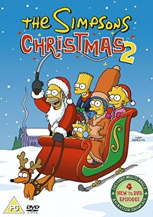 Christmas Simpsons.The Simpsons Christmas 2 Dvd 1990 Amazon Co Uk Dan