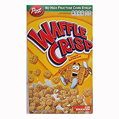 Post Waffle Crisp Cereal, 11.5-Ounce Boxes (Pack of 4)