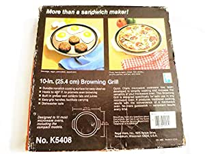 Amazon.com: Regal Quick Chef – Microondas Browning Grill ...