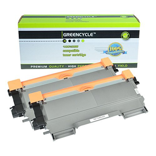 - GREENCYCLE TN450 TN420 Black Toner Cartridge for Brother FAX-2840 Laser Fax Machine