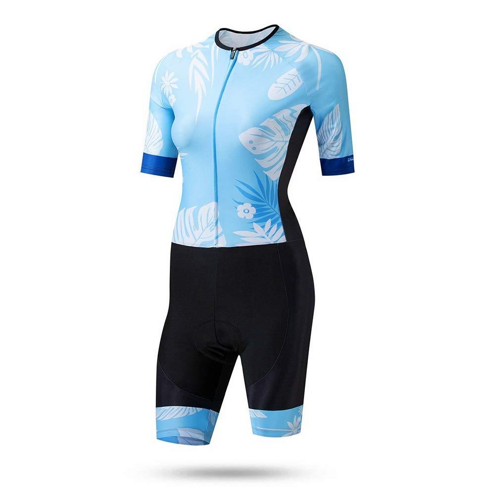 Bike Jersey Sommer Damen Schnelltrocknender Overall Fahrrad Reitanzug Team Sport Wandern Laufbekleidung Fahrradtrikot für Frauen LPLHJD