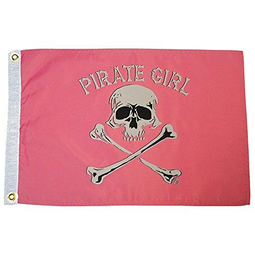 Pirate Girl Flag (3 ft. x 5 ft.) (Pirate Girl Flag)