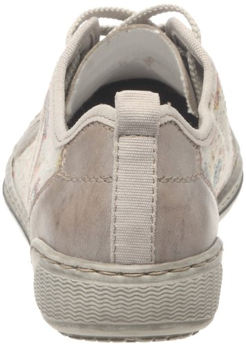 Rieker elefant multi grey whiteclay Femme Beige Mode 42425 Baskets 60 x4wxqRgA