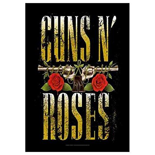 Guns N Roses Banner - GUNS N ROSES Big Guns Tapestry Cloth Poster Flag Wall Banner 30
