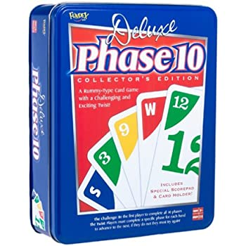 Amazon.Com: Phase 10 Card Game Styles May Vary: Toys & Games