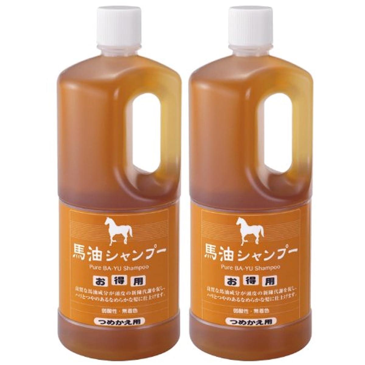 [해외] 아즈마상사 마유 샴푸 리필 (1000mlx2개)