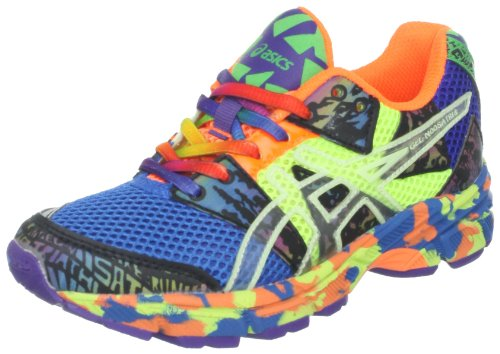 ASICS GEL-Noosa Tri 8 GS Running Shoe (Little Kid/Big Kid),French Blue/Flash Yellow/Punch,3.5 M US Big Kid (Best Asics Running Shoes For Womens 2014)