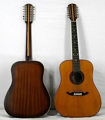 musikalia Liuteria Jumbo Guitarra acústica folk de 12 cuerdas ...