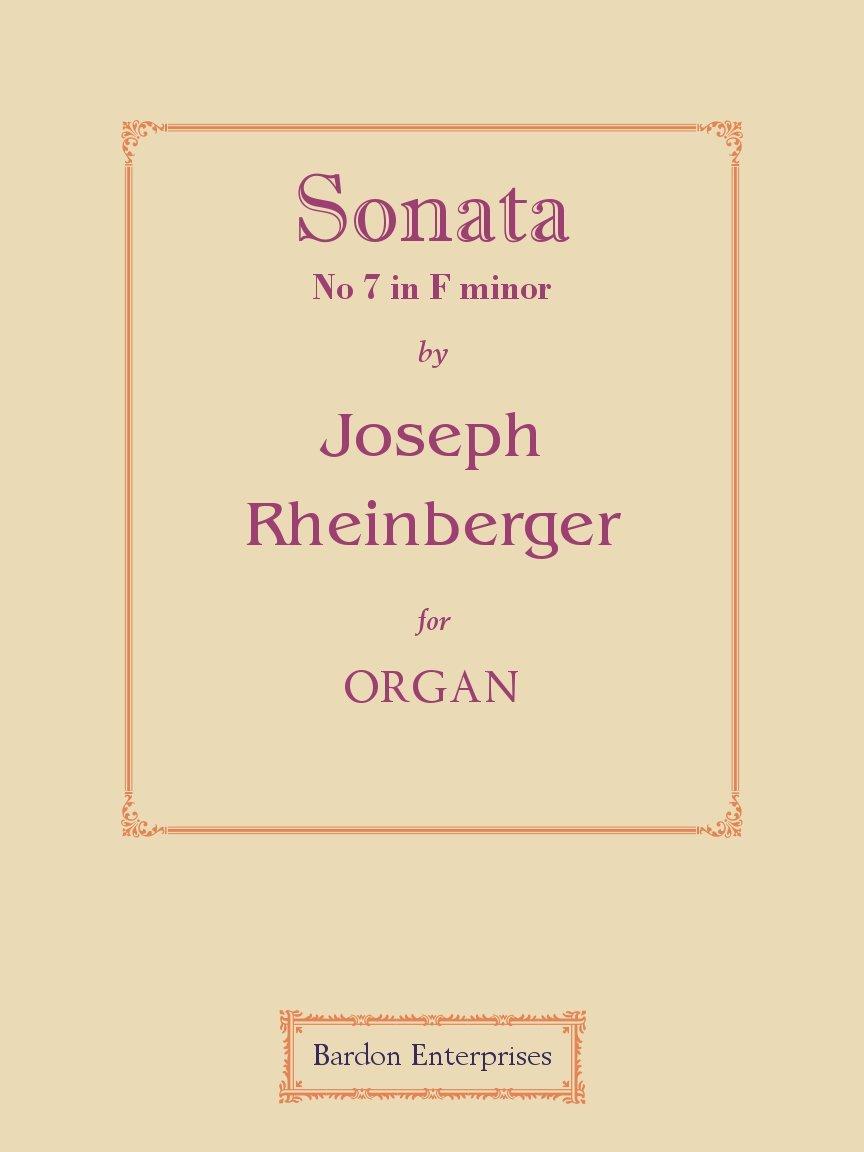 Sonata No 7 in F minor (Op. 127) pour orgue pdf