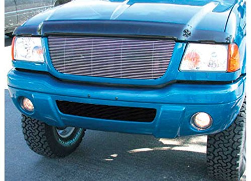 TRex Grilles 20686 Horizontal Aluminum Polished Finish Billet Grille Insert for Ford Ranger 4WD Edge