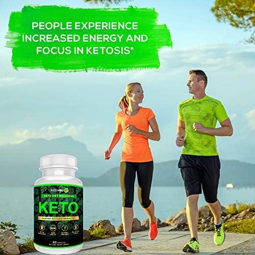 Keto Pills That Work Fast for Women & Men - Keto BHB Capsules Salts Exogenous Ketones Supplement - Keto Diet Pills Energy Boost, Raspberry Ketones, No Caffeine - Get in Ketosis for Ketogenic Diet 7
