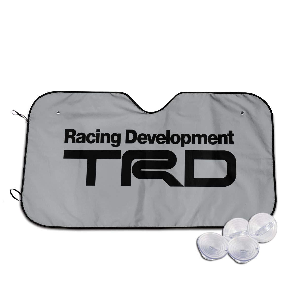 YJMHstore Racing Development TRD Universal Car Sunshades Heat Shield Windshield 2 Sizes