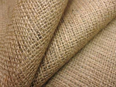 WI Waltzer India Jute Hessian Cloth/Burlap Natural Fabric Roll for DIY Crafts Home Decor (Brown, LXW - 10MX39-inch)