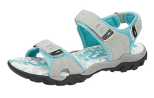 PDQ Damen Pink Grau Adventure Trail Walking Klettverschluss Sports Sandalen Größen 4 5 6 7 8