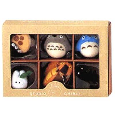 Big Star Studio Ghibli Complete Box 6 Figure Mascots with Key Ball Chain Ver.1: Toys & Games