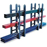 "SPG SZ DX Gillis/Jarke Mini-Module Stacking Storage Rack, Heavy Duty Welded Steel, 7500 lbs Capacity, 23-1/2"" Length, 16"" Width"