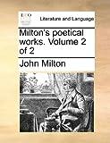 Milton's Poetical Works, John Milton, 1170791905