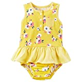 Carters Baby Girls' Floral Skirt Romper