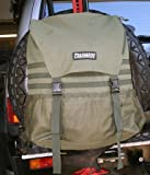 Trasharoo Spare Tire Trash Bag GREEN, Outdoor Stuffs