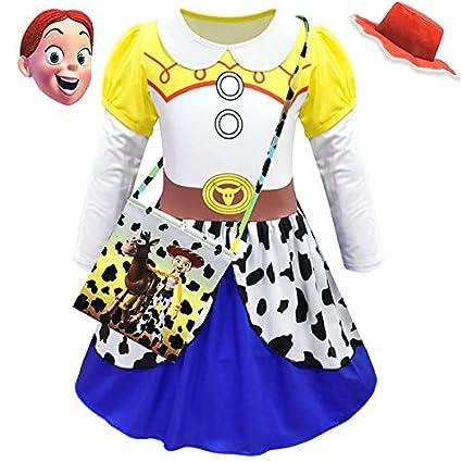 GJBXP Película Toy Story 4 Jessie vestido Cosplay Disfraz Toy ...