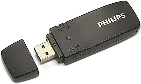 Philips PTA01/00 Adaptador USB inalámbrico para televisores (Negro): Amazon.es: Informática