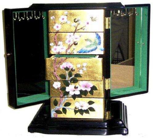 予約販売 美しいPainted Oriental Oriental Musicalジュエリーボックスin B00H5QYDNC Chineseスタイルゴールドフレーク 美しいPainted B00H5QYDNC, ピボット:c954ab3b --- svecha37.ru