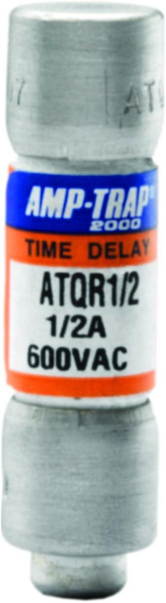 10-Pack Mersen ATQR6//10 600V 6//10A Cc Time Delay Fuse