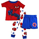 Spider-Man Toddler Red 3 pc Pajamas Set