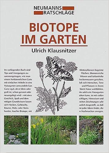 Schön Biotope Im Garten.: Ulrich Klausnitzer, Marie Luise Gubig: 9783740201524:  Books   Amazon.ca