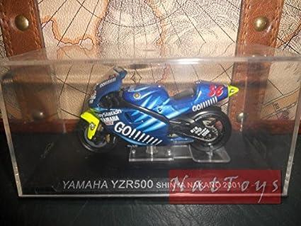 EDICOLA Moto Yamaha YZR500 Shinya Nakano 2001 Modellino 1:24 ...