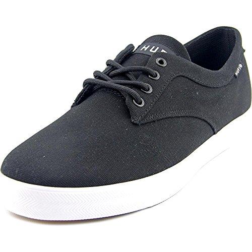HUF Men's Sutter Durable Skate Shoe, Black, 9.5 M US