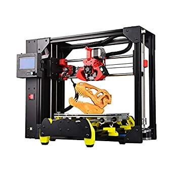 HWA K Semi-Assembled 3D Printer with Three Fan Full Metal ...