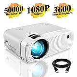 Proyector DracoLight 3300 Lumens 1080P Portátil -Blanco