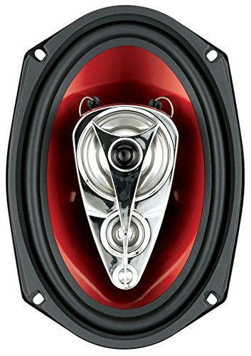 Sold in Pairs 4 Way 500 Watts Of Power Per Pair And 250 Watts Each 6 x 9 Inch Full Range Easy Mounting BOSS Audio Systems CH6940 Car Speakers