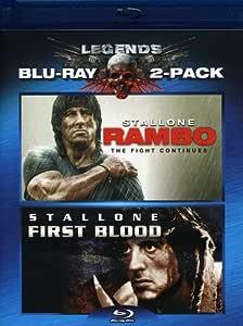 Rambo: Fist Blood & Rambo: The Fight Continues Edizione: Stati Uniti USA Blu -ray: Amazon.es: Sylvester Stallone, Julie Benz, Matthew Marsden, Paul Schulze, Graham McTavish, Rey Gallegos, Tim Kang, Maung Maung Khim, Ken