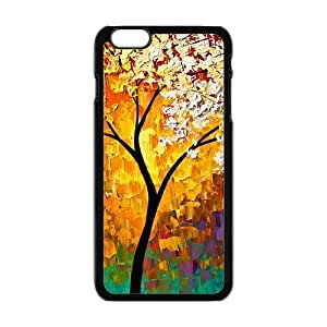 """Abstract colorful tree oil painting Phone Case for iPhone 6 Plus 5.5"""""""