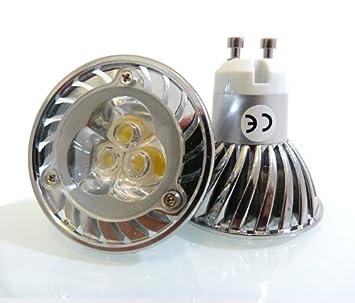 GU10 bombilla LED en día con Edison - Chips de LED 5 W/5 vatios GU10 LED ideal para sustituir 50 W bombillas halógenas (bombillas LED de tamaño estándar): ...