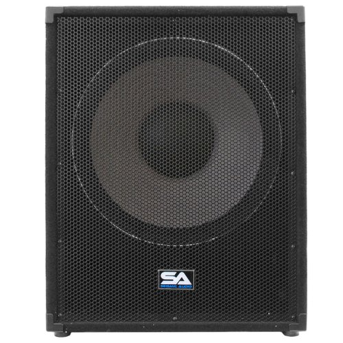 Seismic Audio - Enforcer II - Pair of PA 18'' Subwoofer Speaker Cabinet by Seismic Audio (Image #2)