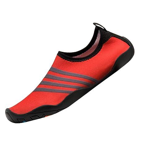 Bestow Zapatillas de Buceo con Rayas para Hombres y Mujeres Zapatos para Snorkel Zapatos para Nadar Zapatos para Yoga Zapatos para Hombres: Amazon.es: Ropa ...