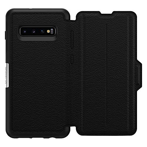 OtterBox STRADA SERIES Case for Galaxy S10+ - Retail Packaging - SHADOW (BLACK/PEWTER) by OtterBox (Image #2)