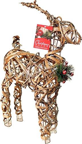 Outdoor Christmas Light Up Reindeer in Florida - 9